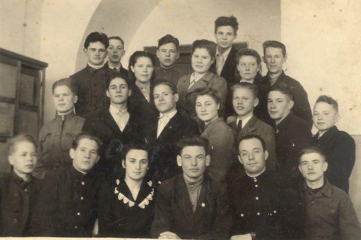 ШАМТ, 3 курс, 1947 год.